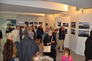 vernissage de l'exposition de Marlène Brémond