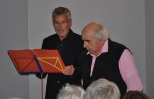 Présentation du spectacle par Christian Thiriot et Serge Pauthe