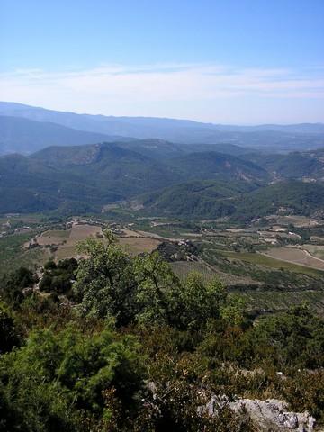 Vue de la vallée depuis le col de Millemandre